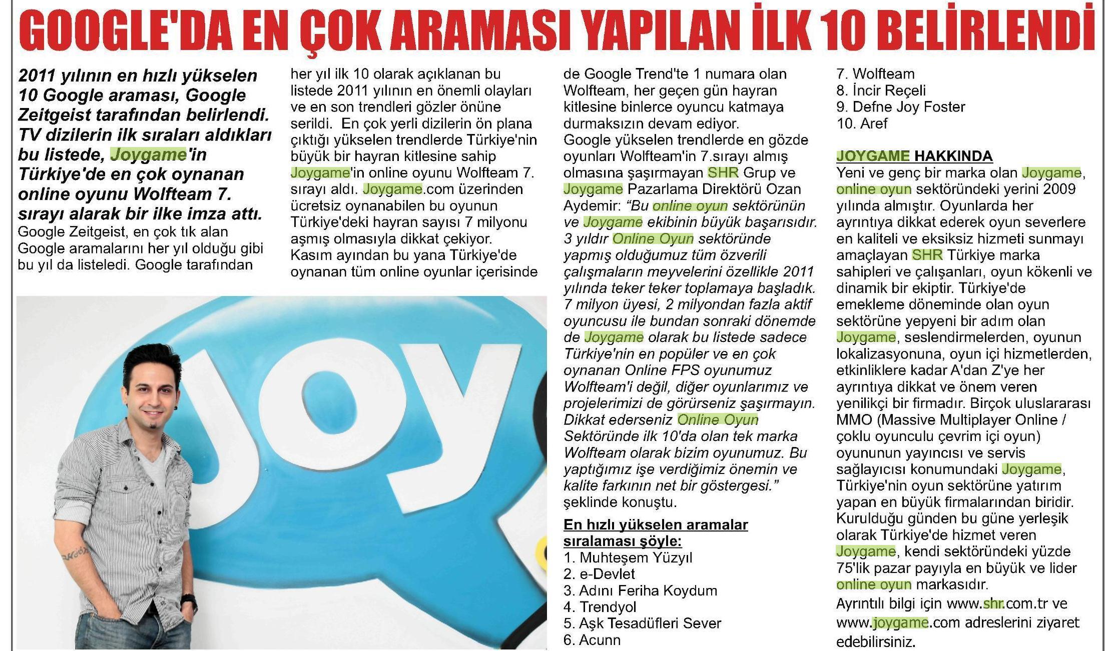 Netmarble-Turkey-Basin-Yansimasi-Vaziyet-Gazetesi-24-Aralik-2011