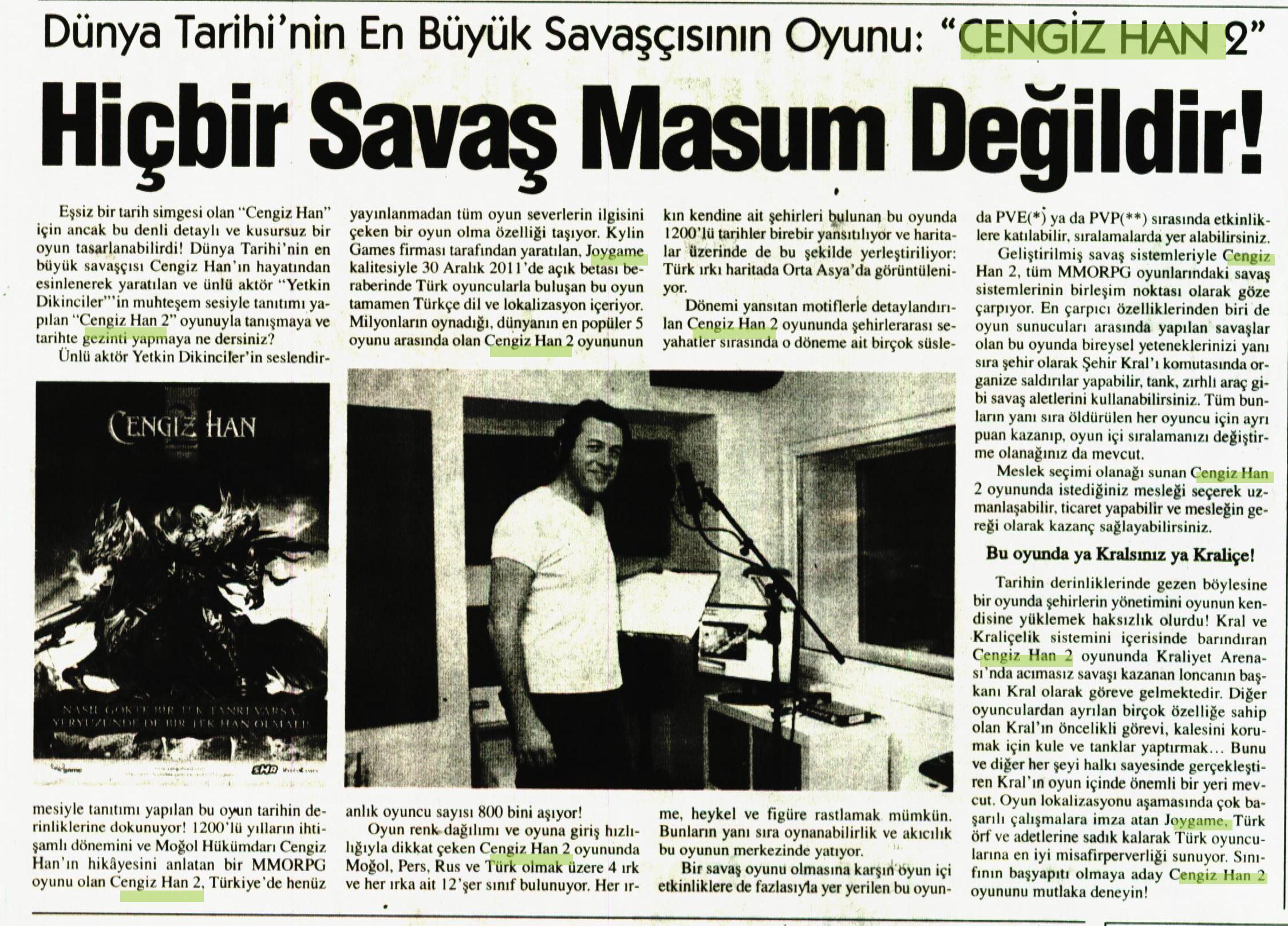 Netmarble-Turkey-Bizim-Anadolu-Gazetesi-27-Aralik-2012