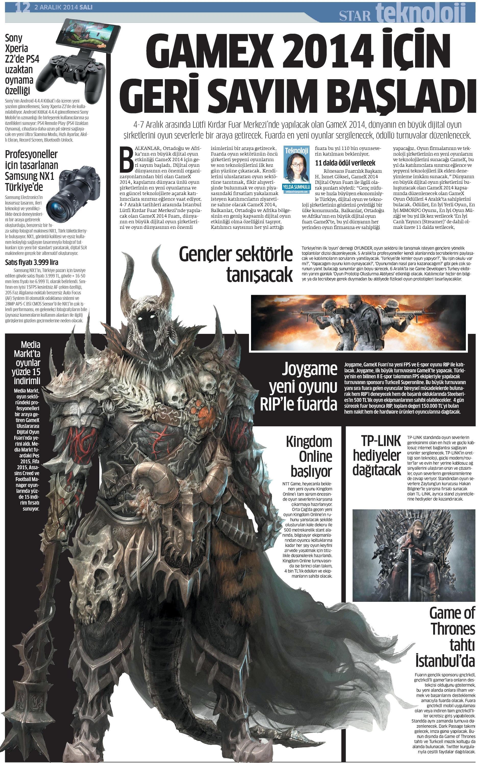 Netmarble-Turkey-Star-Gazetesi-Sayfa-12-02.12.14