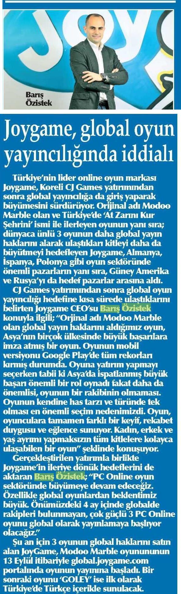 Netmarble-Turkey-Yenigun-Gazetesi-Sayfa-7-6-Aralik-2013