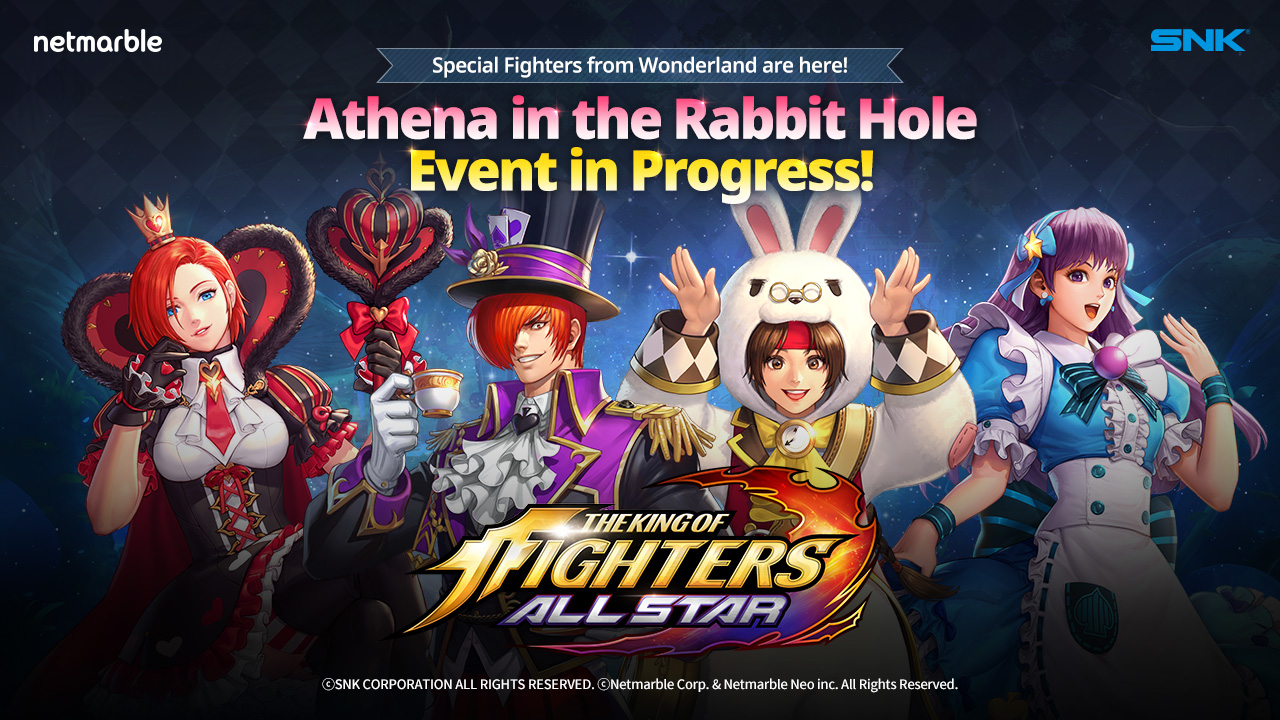 NETMARBLE REVEALS ALL- NEW 'ALICE IN WONDERLAND' UPDATE FOR THE KING OF FIGHTERS ALLSTAR