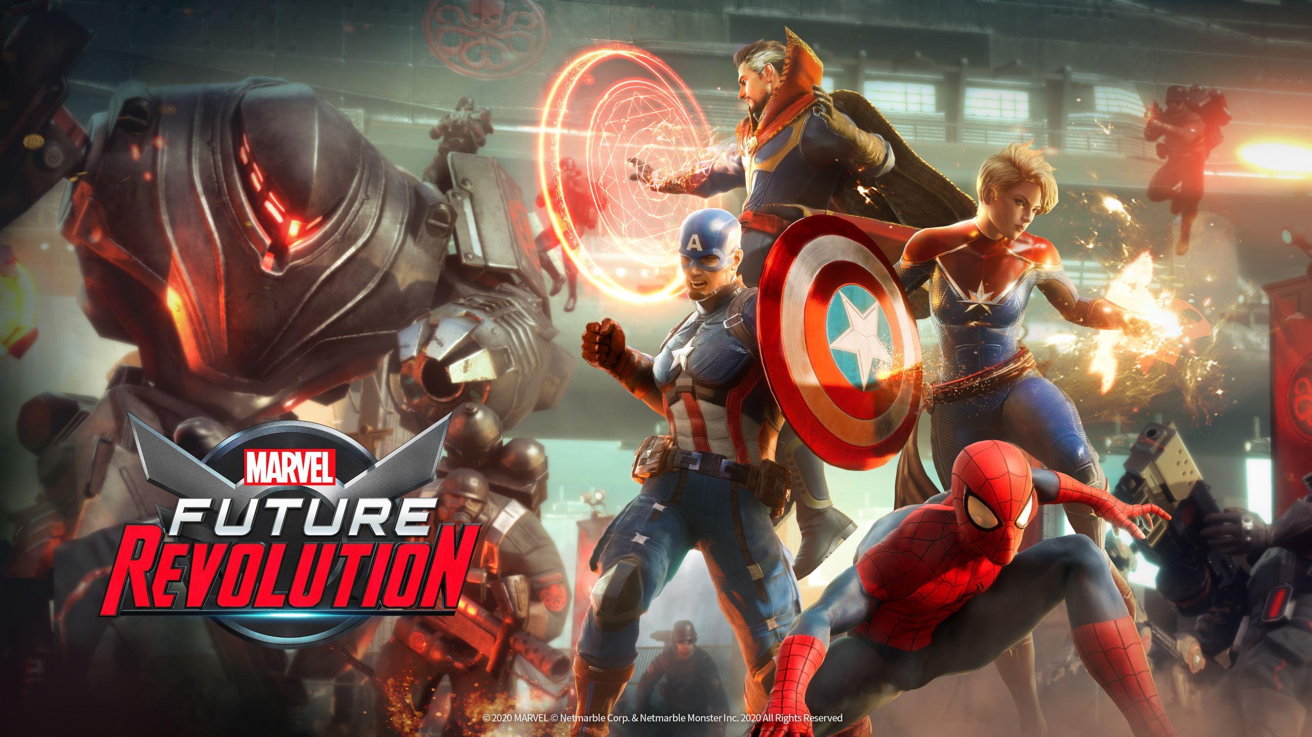 Netmarble ve Marvel'dan devrim niteliğinde bir oyun:  MARVEL Future Revolution
