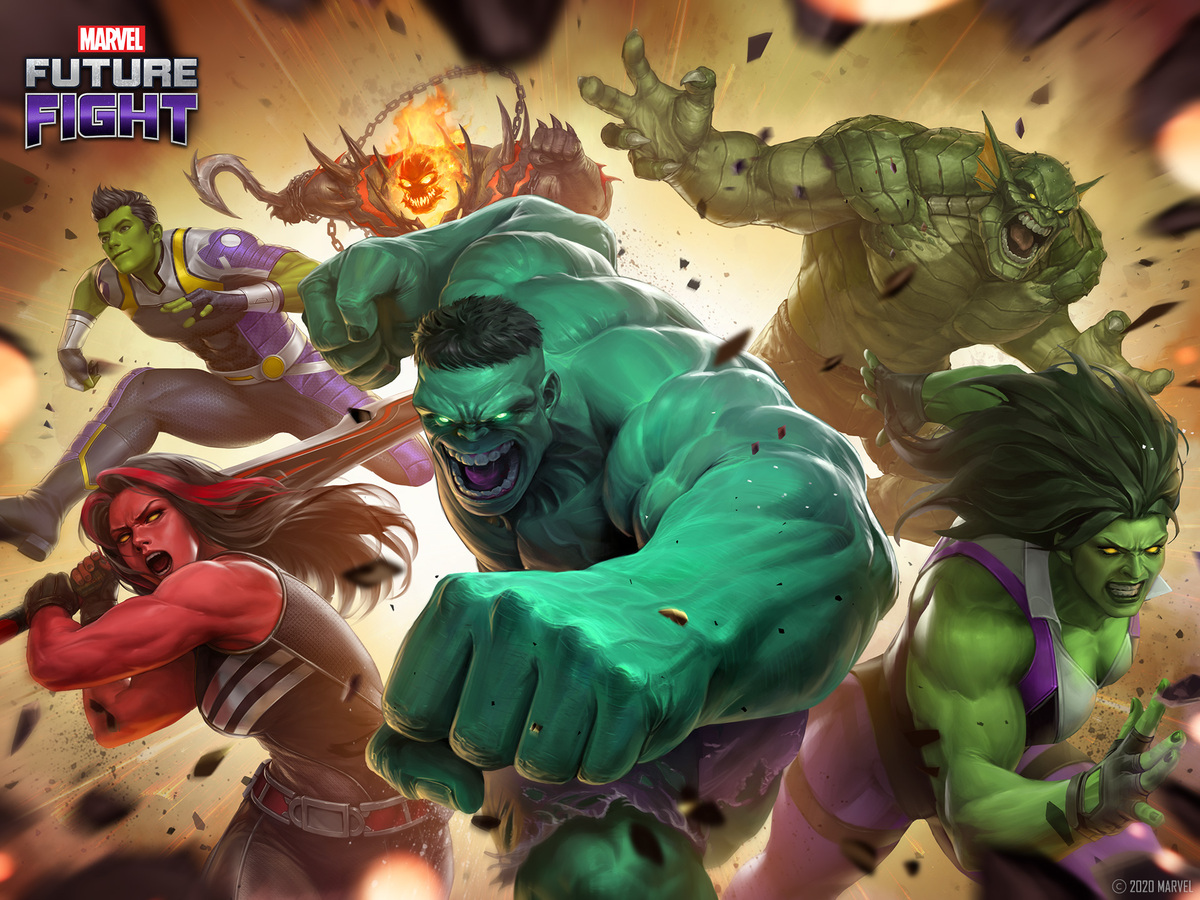NEW IMMORTAL HULK CHARACTERS SMASH INTO MARVEL FUTURE FIGHT'S INCREDIBLE UPDATE