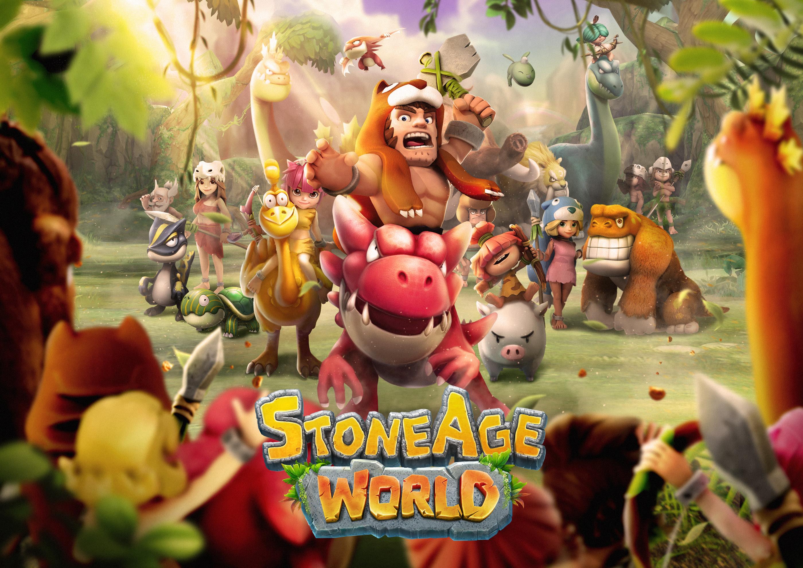 StoneAge World ile tarih öncesi çağlarda heyecan devam ediyor