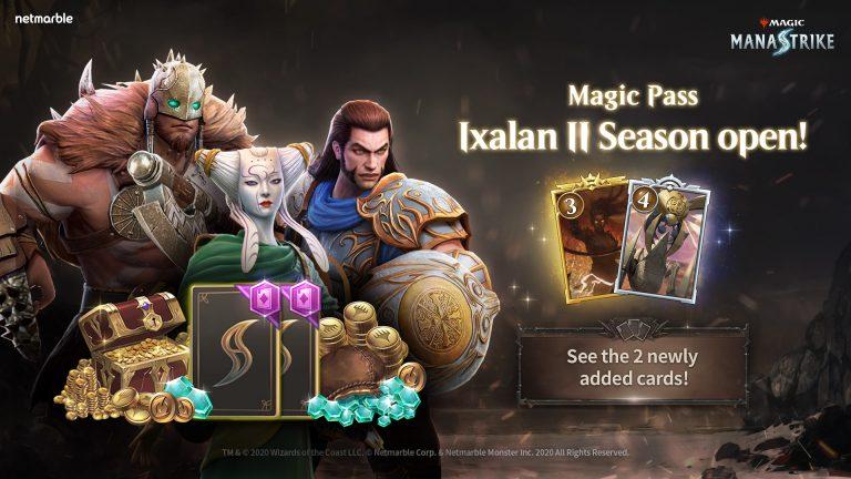 MAGIC: MANASTRIKE ADDS NEW MAGIC PASS REWARDS IN IXALAN II SEASON UPDATE