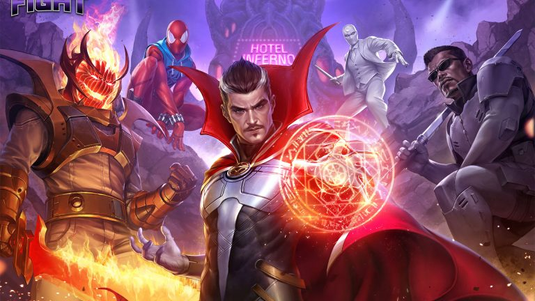 HEROES AND VILLAINS SAVE LAS VEGAS IN NEW DAMNATION COMIC BOOK INSPIRED UPDATE FOR MARVEL FUTURE FIGHT