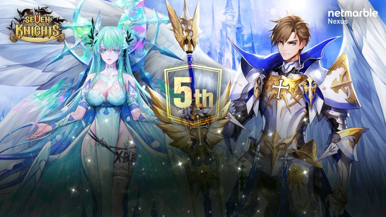 SEVEN KNIGHTS CELEBRATES 5TH ANNIVERARY WITH  SPECIAL IN-GAME EVENTS AND REWARDS
