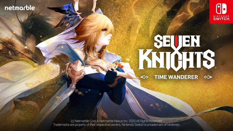 EMBARK ON A SPACE-TIME ADVENTURE WITH  SEVEN KNIGHTS – TIME WANDERER –  NETMARBLE'S FIRST CONSOLE GAME FOR NINTENDO SWITCH