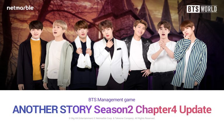 BTS WORLD NOVEMBER UPDATE ADDS TALE OF SEOK JIN'S SPECIAL VACATION AT THE HOTEL OF HORROR